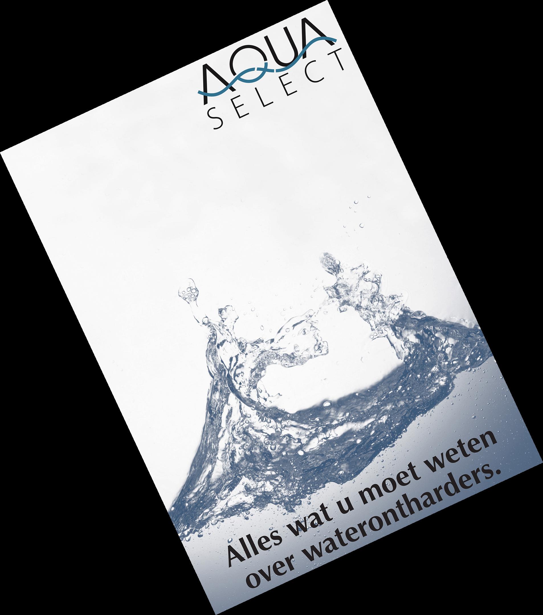 Illustratie: afbeelding van de pdf met alles wat u altijd al wilde weten over waterontharders. Klik op de foto om de pdf te downloaden.